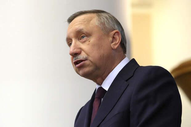 Беглов пригрозил ужесточить коронавирусные ограничения в Петербурге