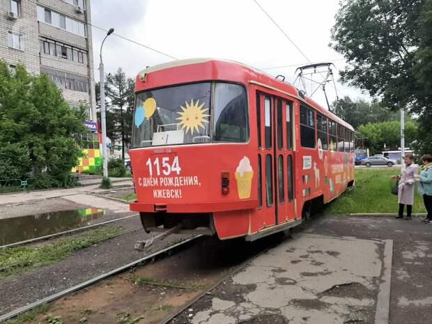 «Однёрка» и «семёрка» проедут по Ижевску 2 июля