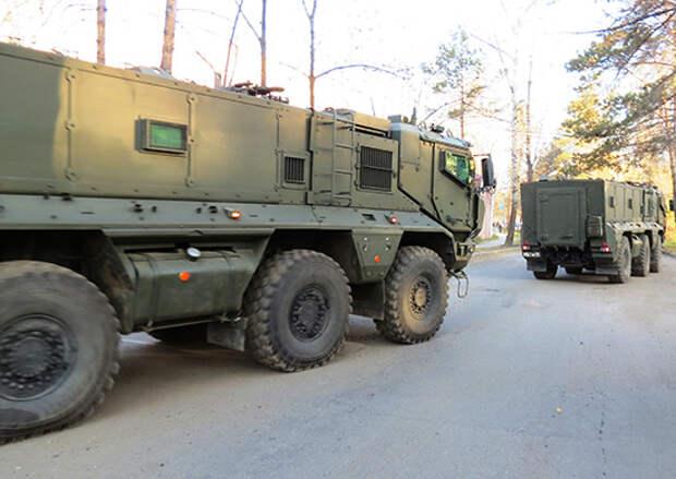 Новейшие бронемашины «Тайфун» поступили на вооружение в общевойсковое объединение ВВО в Приморье