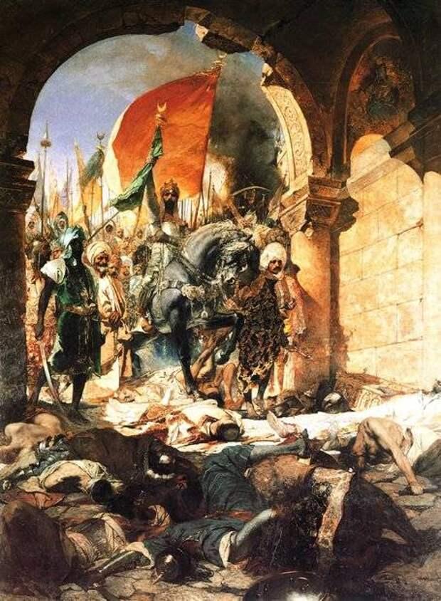 Тимур и Баязид I. Анкарская битва великих полководцев