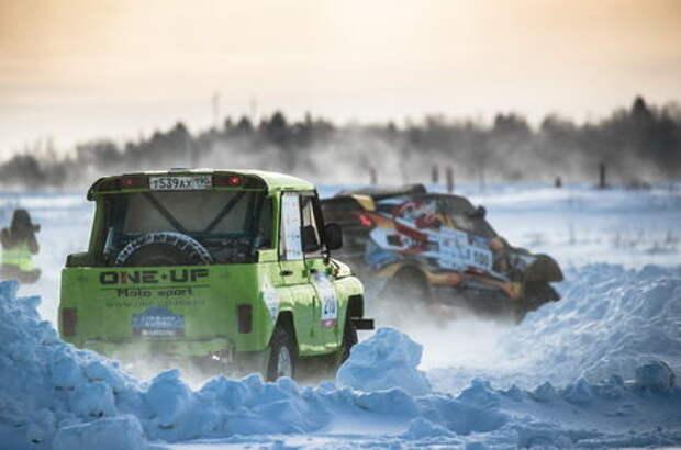Ралли-рейды: «Снежная битва» на Кубке России
