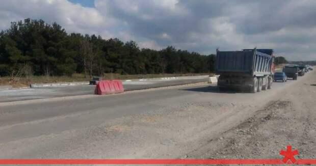Ремонт Камышового шоссе обещают закончить к концу года