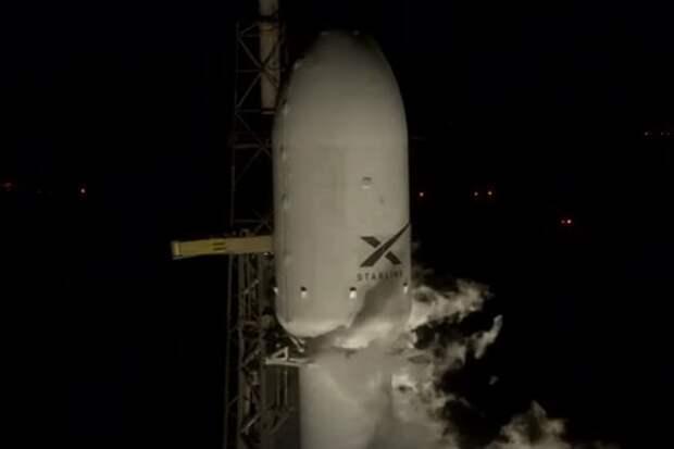 SpaceX запустила новую партию спутников глобального интернета