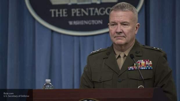 Генерал Маккензи не подтвердил версию США о сговоре РФ с талибами