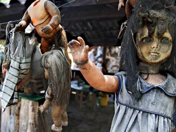 """Остров Кукол: """"ужастик"""" руками одного человека"""