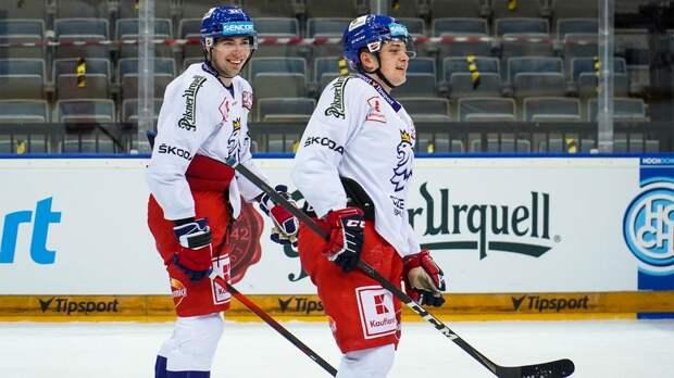 Сборная Чехии в овертайме обыграла Швецию на домашнем этапе Евротура