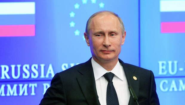 На выборах в Европарламент граждане ЕС проголосовали за  Путина