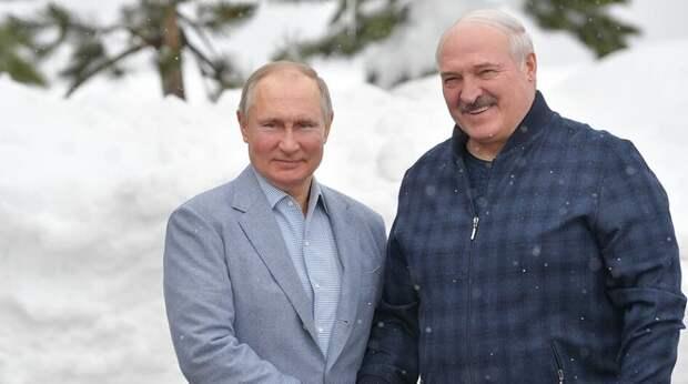 Лукашенко высказался о «брехне» про его встречу с Путиным