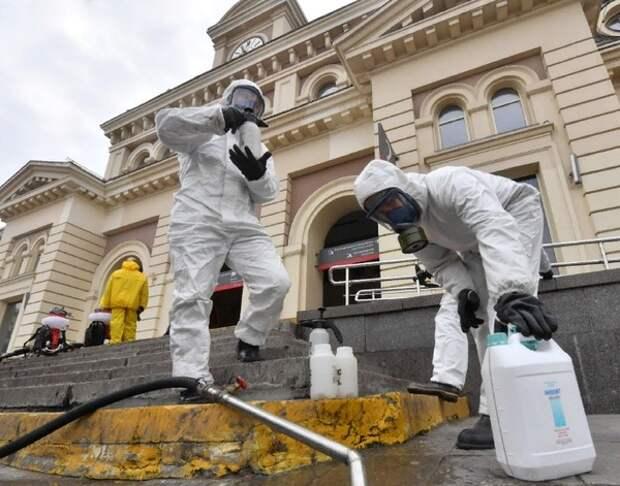 В России уже почти 58 тысяч заразившихся коронавирусом