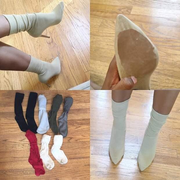Носки поверх обуви (подборка Diy)