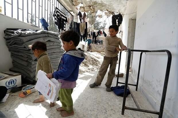 Россия призвала мировое сообщество спасти детей из лагеря беженцев в Сирии