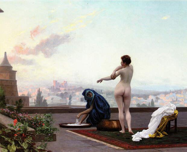 Это голая царица Иудейская, или просто голая иудейка? Как отличить