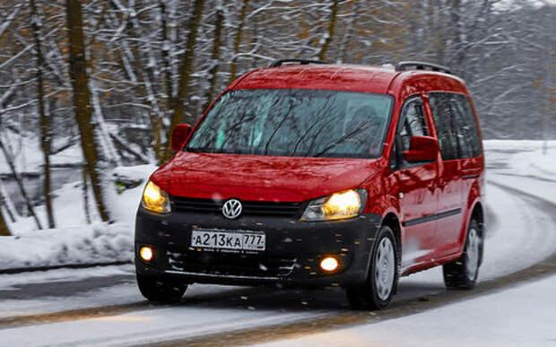 Volkswagen Caddy Maxi: как здоровье после 125 тыс.км.