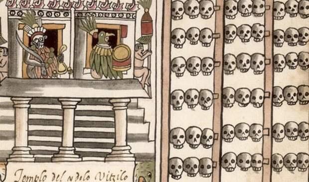 Ацтеки - последняя великая индейская цивилизация.