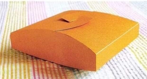 Подарочная коробка - ящичек