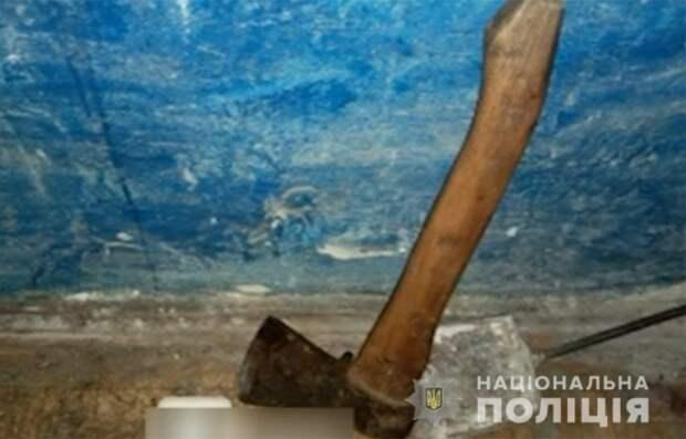 В Киевской области мужчина пытался убить брата из-за наследства. Появилось видео