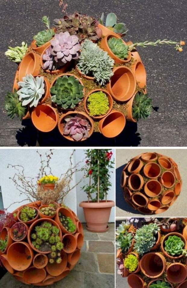 15 довольно креативных идей для сада