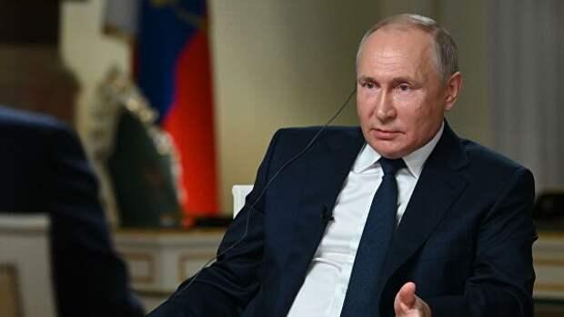 Путин заявил журналисту NBC, что тот перебивает его