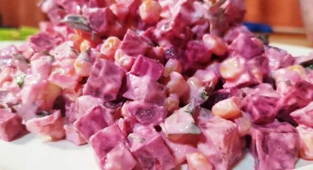 Салат на каждый день из самых простых продуктов! Вы будете в восторге