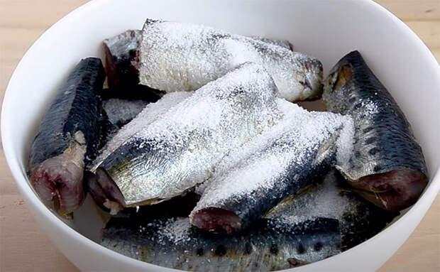 Делаем домашние консервы из рыбы: раскладываем сардины по банкам и ставим в духовку
