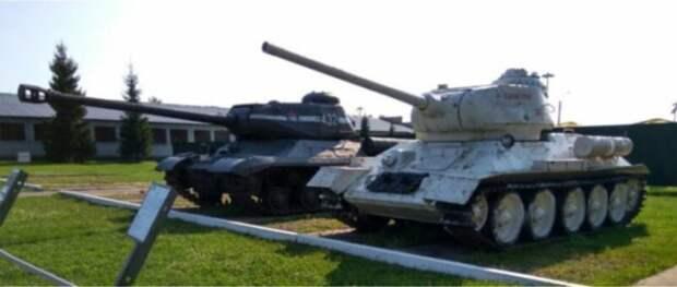 Почему на ствол советских танков вешали ведро? Т 34-85, ведро, смекалка, ствол