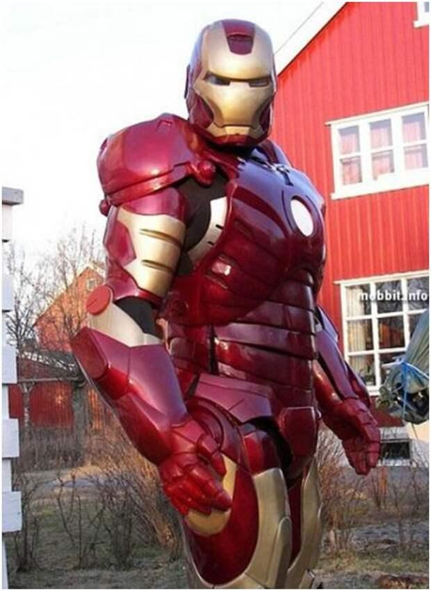 Как сделать костюм железного человека
