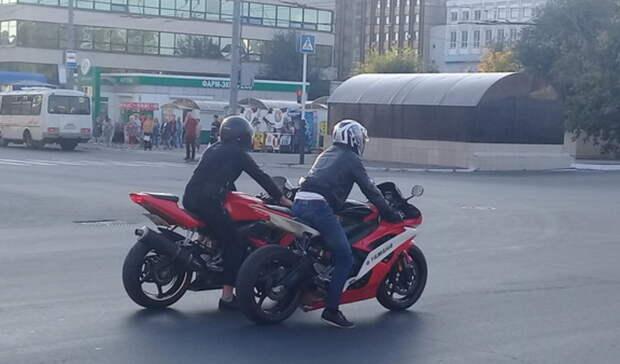Зауправление мотоциклом без прав привлечены 72 водителя вТюмени