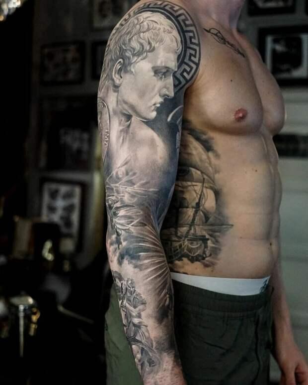 20 величественных тату шведского художника Мистера Стаклайфа