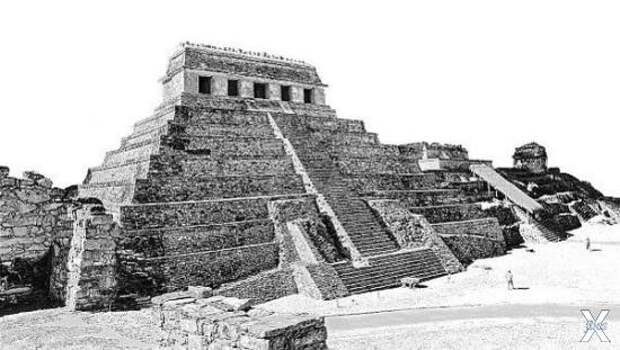 Гробница Пакаля, Паленке, Мексика