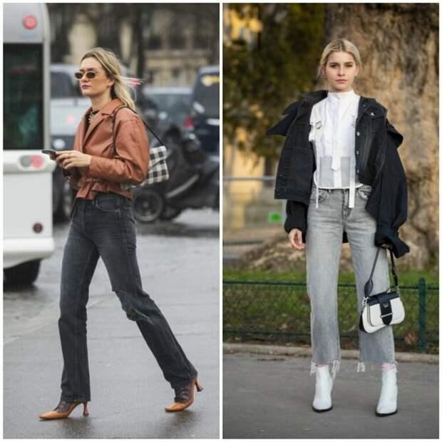 Прямые джинсы: с чем носить вечную классику в 2021 году?