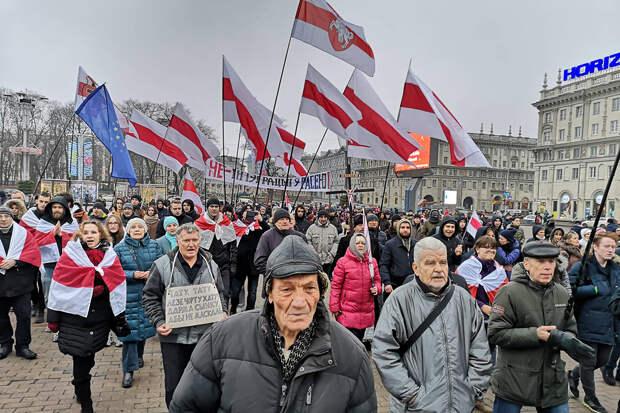 В Минске на акции протеста задержаны более 200 человек