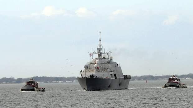 Выяснена причина позорного списания США двух новых боевых кораблей