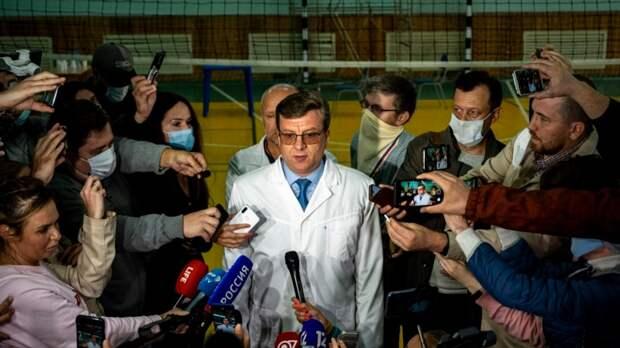 Глава омского Минздрава, руководивший больницей, где лечили Навального, пропал в лесу