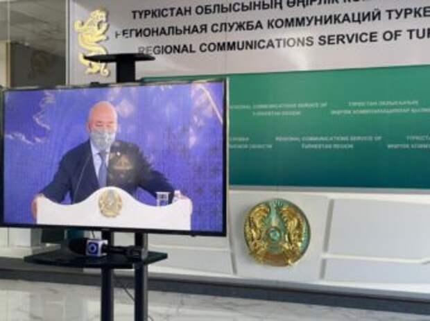 Аким Туркестанского области рассказал о пенопласте в «Керуен-сарае»