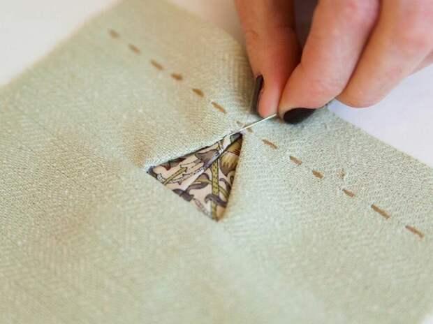 Треугольные петли DIY