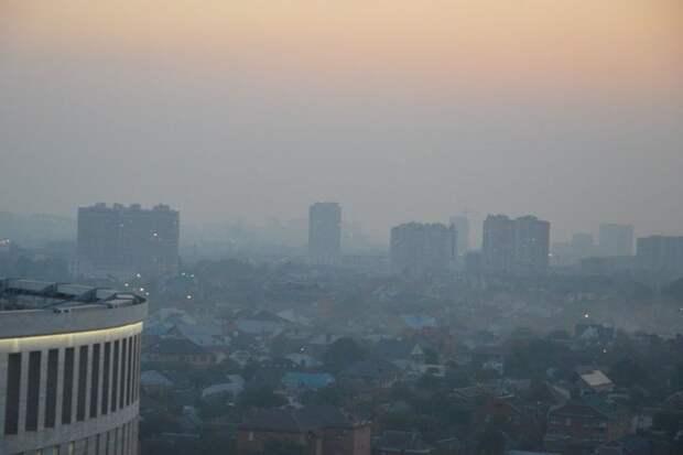 Гидрометцентр Кубани предупредил о сильном загрязнении воздуха