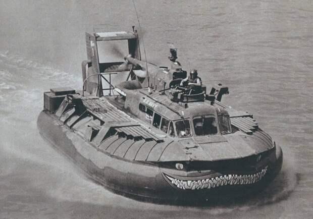Катера на воздушной подушке во Вьетнаме. PACV SK-5