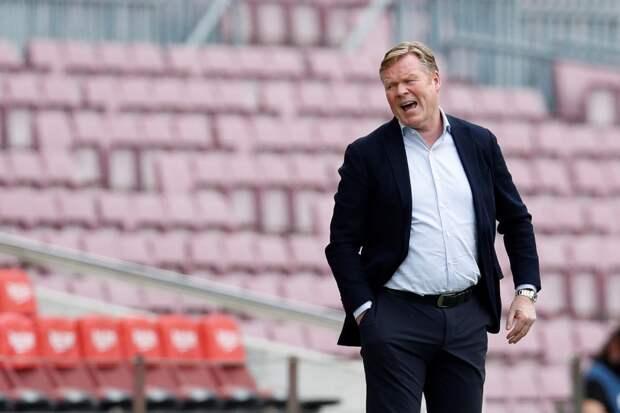 «Барселона» приняла решение уволить Кумана
