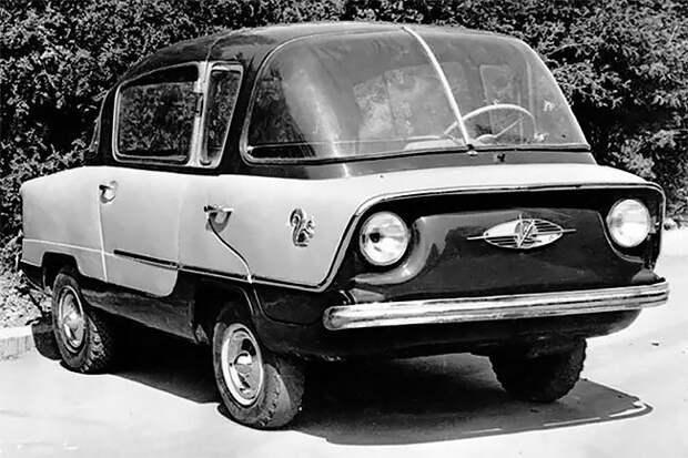 Самые странные и самые быстрые гоночные автомобили, построенные в СССР