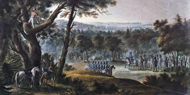 Русская армия в сражениях у Тарутино и под Малоярославцем