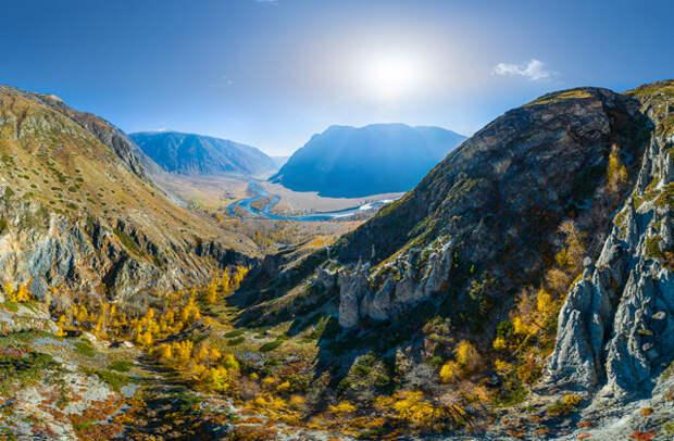 Россия: Алтай, долина реки Чулышман