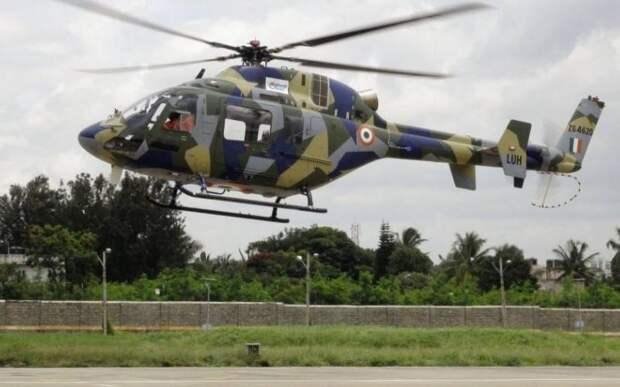 Индийский лёгкий многоцелевой вертолет LUH принят на вооружение армейской авиации