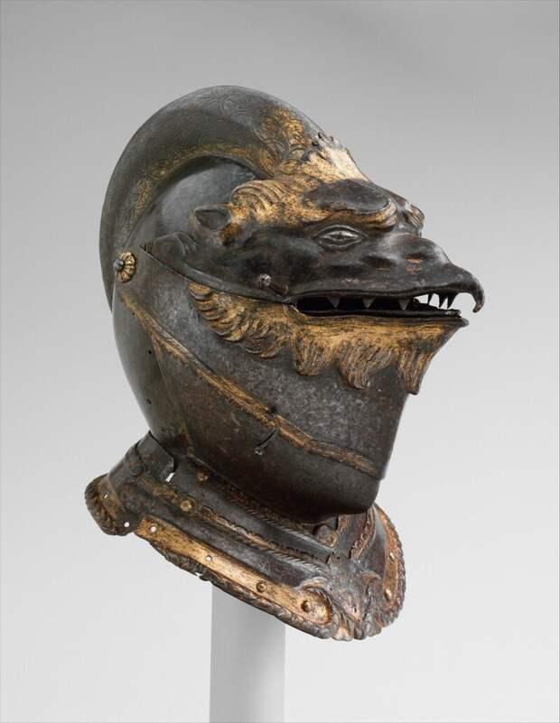 Шлем в виде головы грифона, Италия, Милан или Брешия, 1550 г.