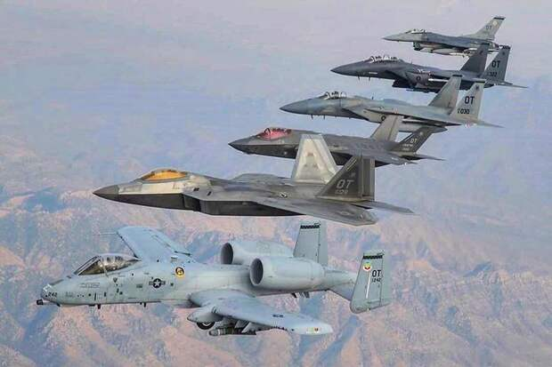 Американские ВВС откажутся от истребителей F-22 Raptor