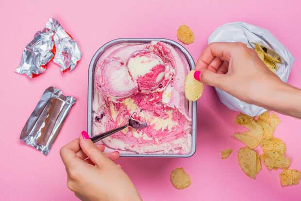 Как контролировать аппетит во время ПМС