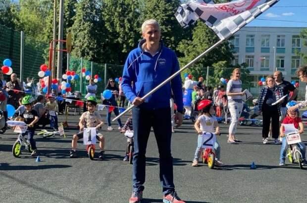 Детский турнир по велобегу прошел в Южном округе