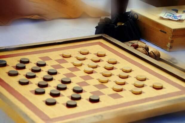 Окружные соревнования по русским шашкам пройдут в Хорошёвском