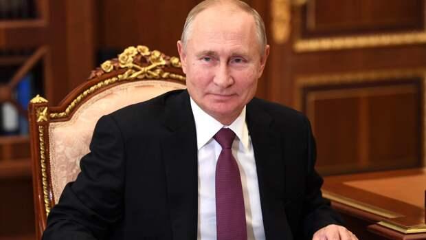 Обложку журнала Time украсило отражение Путина в глазах Байдена