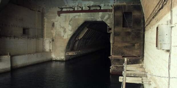 База подводных лодок СССР в Севастополе