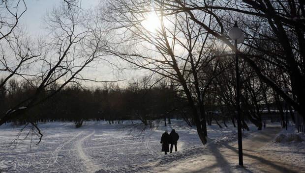 Температура до -10 ожидается в Подольске в субботу